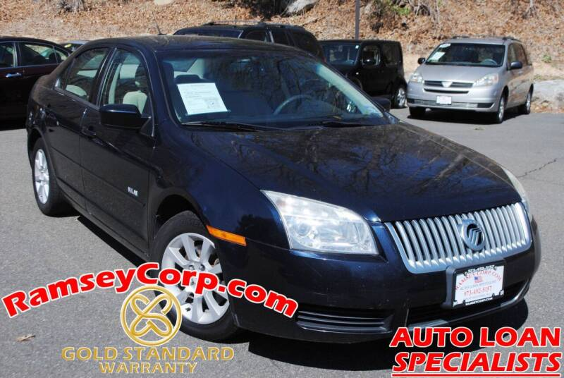 2008 Mercury Milan for sale at Ramsey Corp. in West Milford NJ