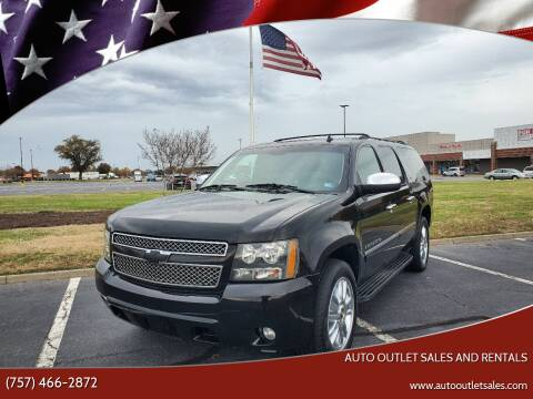 2009 Chevrolet Suburban for sale at Auto Outlet Sales and Rentals in Norfolk VA