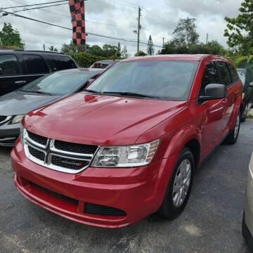 2014 Dodge Journey for sale at America Auto Wholesale Inc in Miami FL