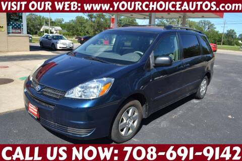 2005 Toyota Sienna for sale at Your Choice Autos - Crestwood in Crestwood IL