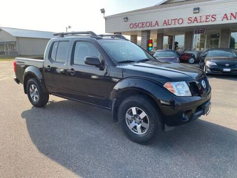 2011 Nissan Frontier for sale at Osceola Auto Sales and Service in Osceola WI