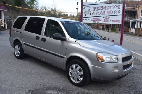 2007 Chevrolet Uplander for sale at Frenchy's Auto LLC. in Pittsburgh PA