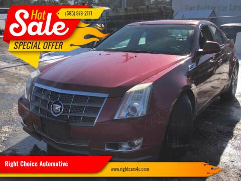 2009 Cadillac CTS for sale at Right Choice Automotive in Rochester NY