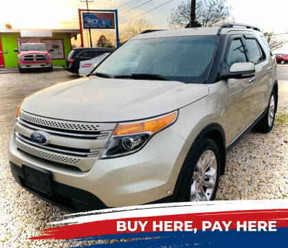 2011 Ford Explorer for sale at R-D AUTO IMPORTS, Inc in Charlotte NC