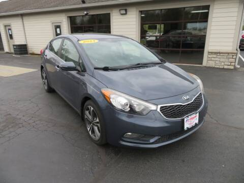 2014 Kia Forte for sale at Tri-County Pre-Owned Superstore in Reynoldsburg OH