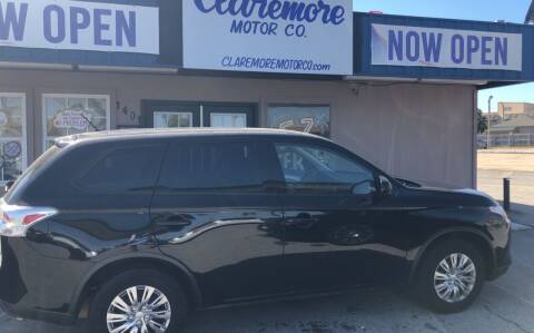 2015 Mitsubishi Outlander for sale at Claremore Motor Company in Claremore OK