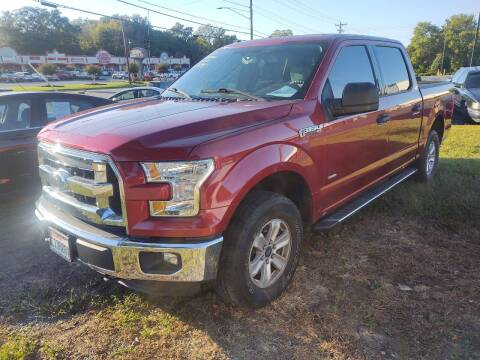 2015 Ford F-150 for sale at Ray Moore Auto Sales in Graham NC