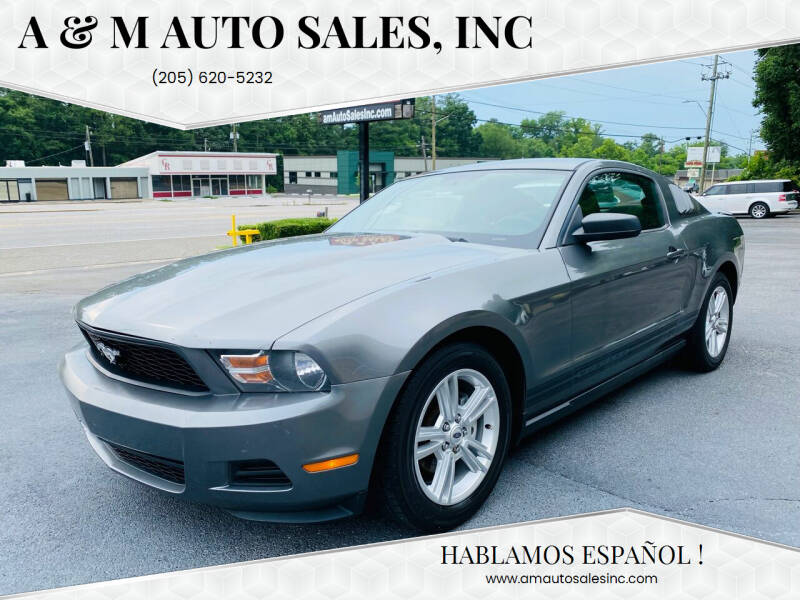 2010 Ford Mustang for sale at A & M Auto Sales, Inc in Alabaster AL
