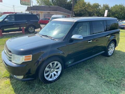 2009 Ford Flex for sale at Texas Select Autos LLC in Mckinney TX
