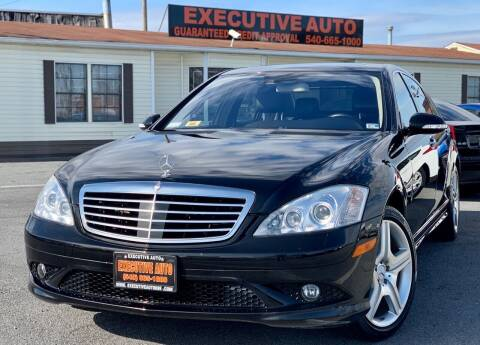 2008 Mercedes-Benz S-Class for sale at Executive Auto in Winchester VA
