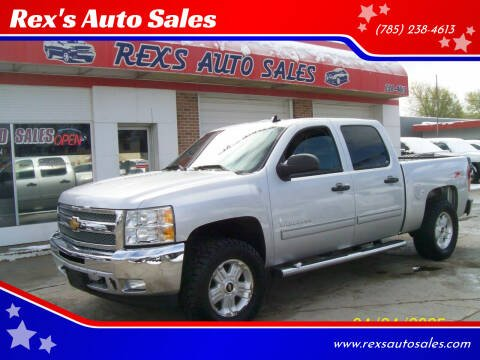 2013 Chevrolet Silverado 1500 for sale at Rex's Auto Sales in Junction City KS