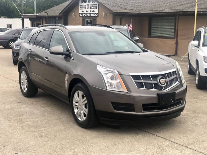 2012 Cadillac SRX for sale at Safeen Motors in Garland TX
