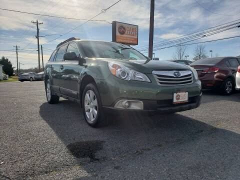 2012 Subaru Outback for sale at Cars 4 Grab in Winchester VA