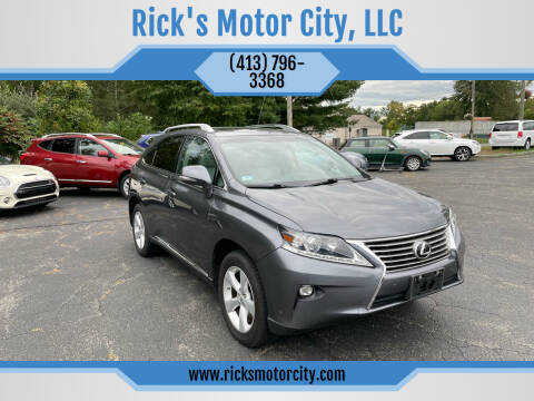 2015 Lexus RX 350 for sale at Rick's Motor City, LLC in Springfield MA