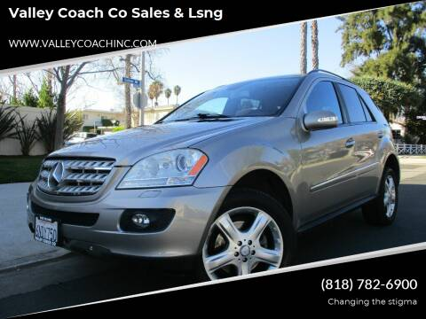 2008 Mercedes-Benz M-Class for sale at Valley Coach Co Sales & Lsng in Van Nuys CA