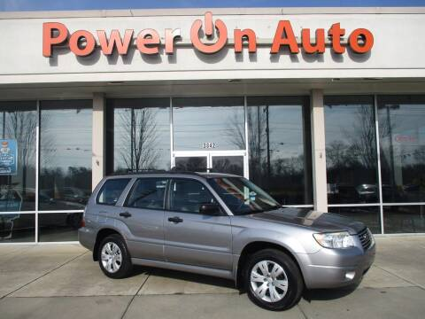 2008 Subaru Forester for sale at Power On Auto LLC in Monroe NC