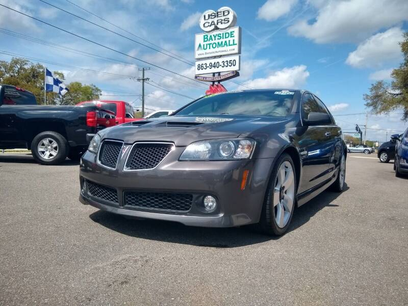 2009 Pontiac G8 for sale at BAYSIDE AUTOMALL in Lakeland FL