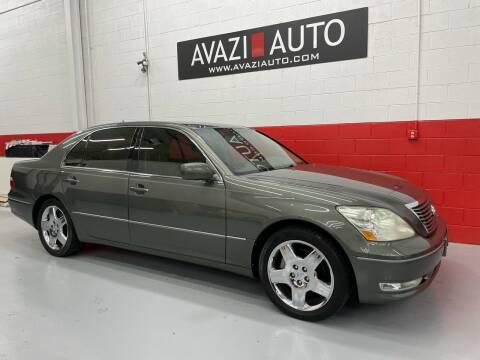 2005 Lexus LS 430 for sale at AVAZI AUTO GROUP LLC in Gaithersburg MD