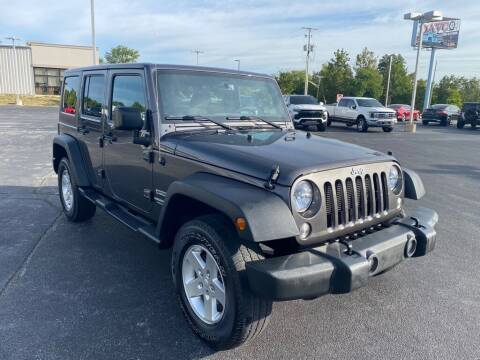 2017 Jeep Wrangler Unlimited for sale at Davco Auto in Fort Wayne IN