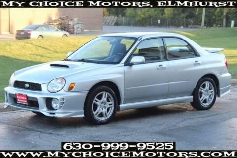 2002 Subaru Impreza for sale at My Choice Motors Elmhurst in Elmhurst IL