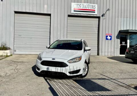2016 Ford Focus for sale at CTN MOTORS in Houston TX
