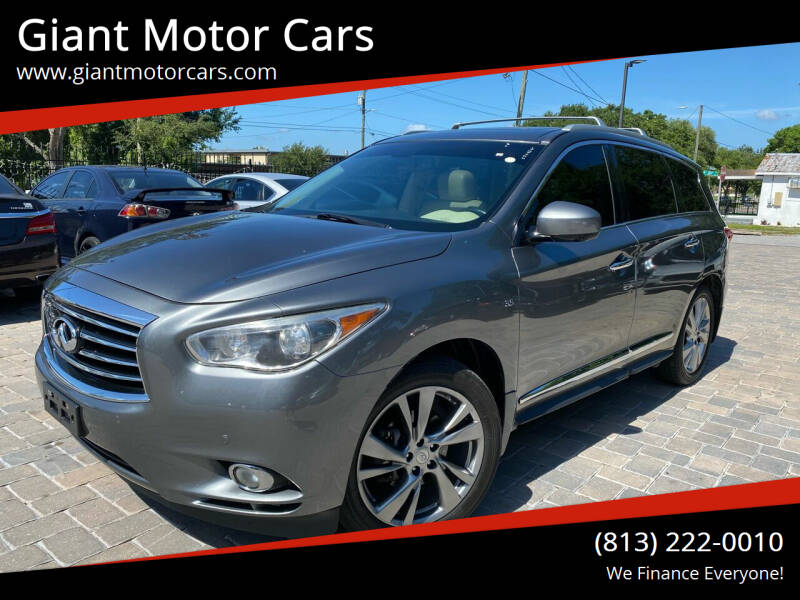 2015 Infiniti QX60 for sale at Giant Motor Cars in Tampa FL