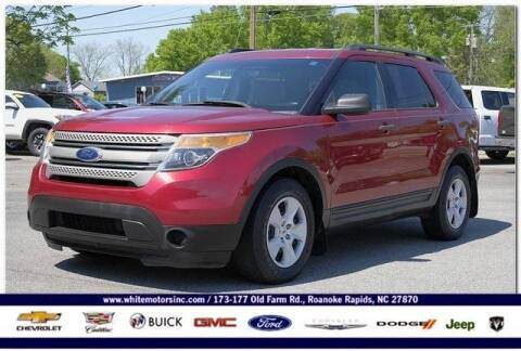 2014 Ford Explorer for sale at WHITE MOTORS INC in Roanoke Rapids NC
