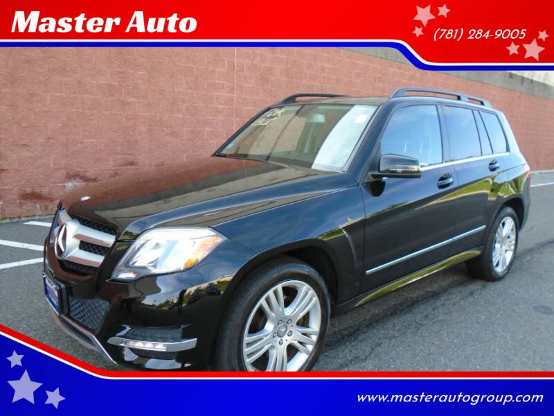 2015 Mercedes-Benz GLK for sale at Master Auto in Revere MA
