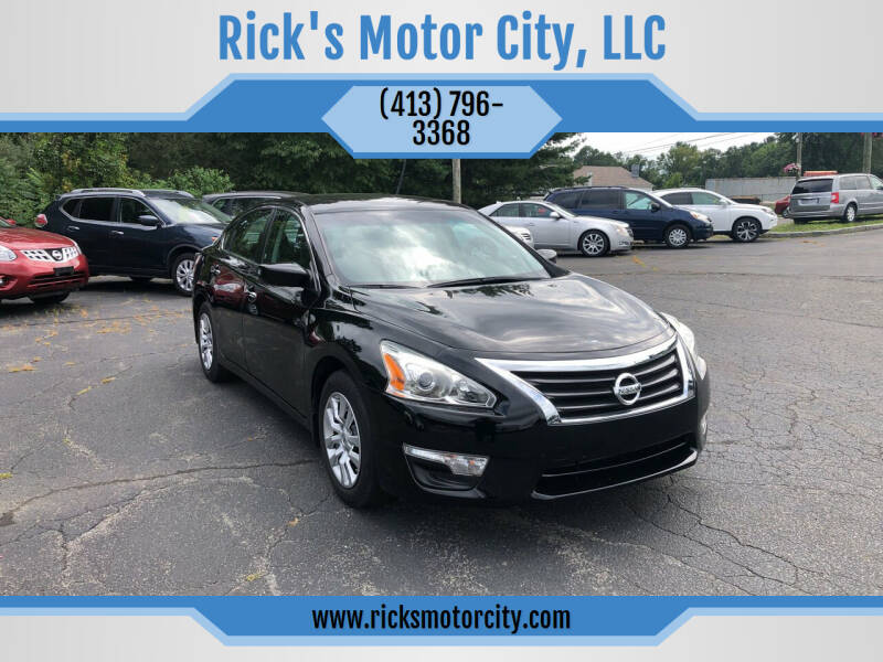 2015 Nissan Altima for sale at Rick's Motor City, LLC in Springfield MA