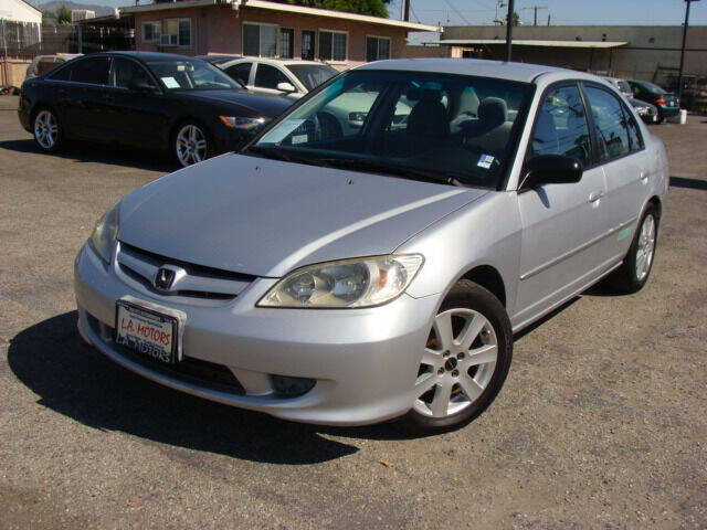 2004 Honda Civic for sale at L.A. Motors in Azusa CA