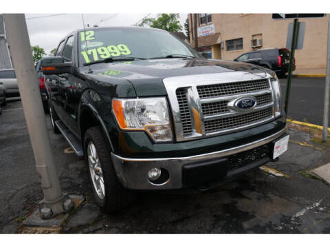 2012 Ford F-150 for sale at M & R Auto Sales INC. in North Plainfield NJ