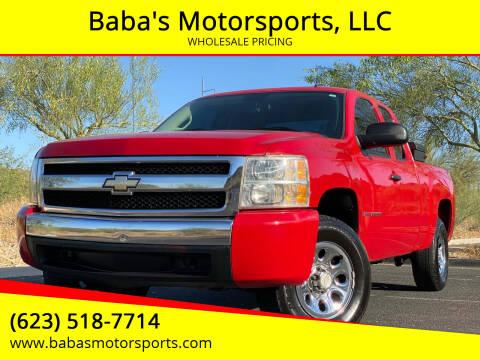 2008 Chevrolet Silverado 1500 for sale at Baba's Motorsports, LLC in Phoenix AZ