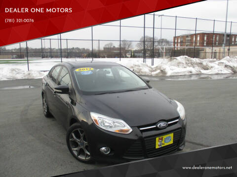 2013 Ford Focus for sale at DEALER ONE MOTORS in Malden MA