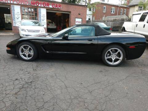 1998 Chevrolet Corvette for sale at HARTFORD MOTOR CAR in Hartford CT