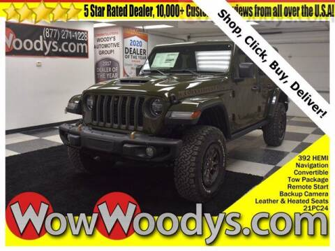 2021 Jeep Wrangler Unlimited for sale at WOODY'S AUTOMOTIVE GROUP in Chillicothe MO