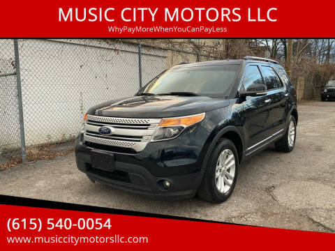 2014 Ford Explorer for sale at MUSIC CITY MOTORS LLC in Nashville TN