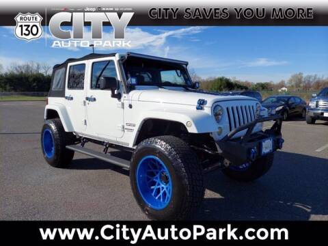 2016 Jeep Wrangler Unlimited for sale at City Auto Park in Burlington NJ