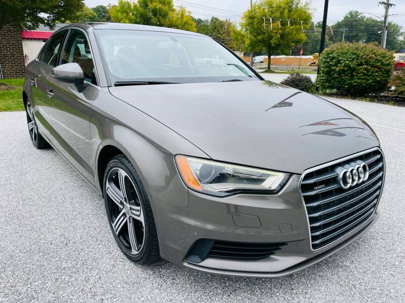 2015 Audi A3 for sale at CROSSROADS AUTO SALES in West Chester PA