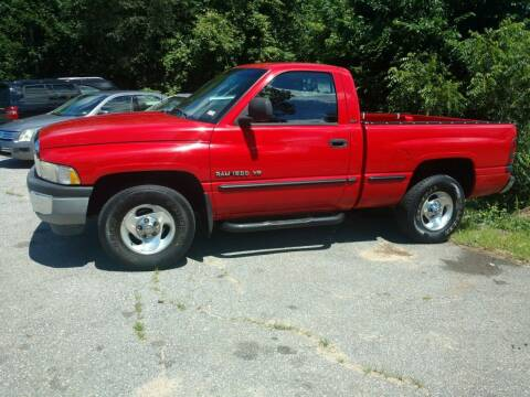 1999 Dodge Ram Pickup 1500 for sale at Auto Brokers of Milford in Milford NH