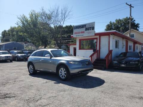 2006 Infiniti FX35 for sale at Crosby Auto LLC in Kansas City MO