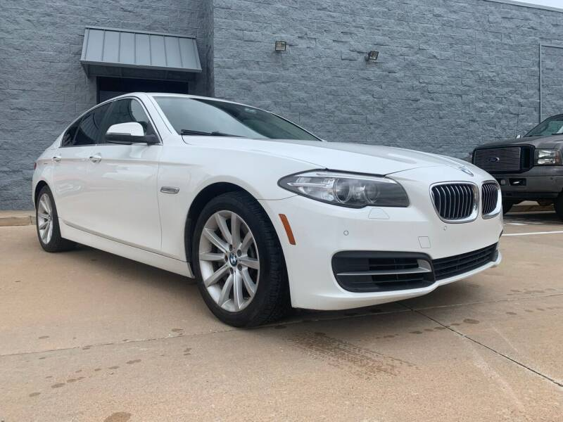 2014 BMW 5 Series for sale at VanHoozer Auto Sales in Lawton OK