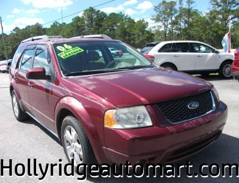 2006 Ford Freestyle for sale at Holly Ridge Auto Mart in Holly Ridge NC