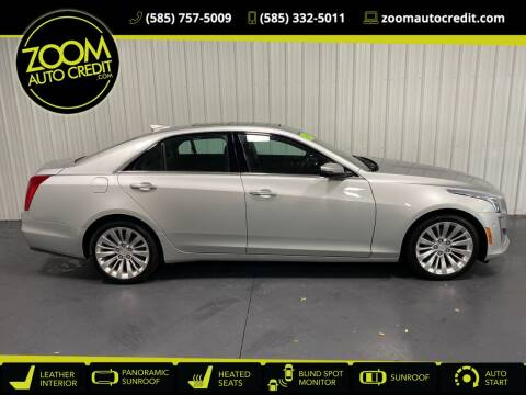 2018 Cadillac CTS for sale at ZoomAutoCredit.com in Elba NY