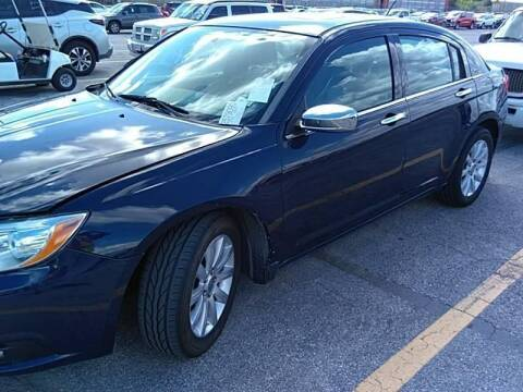 2014 Chrysler 200 for sale at Buy Here Pay Here Lawton.com in Lawton OK