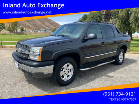 2004 Chevrolet Avalanche for sale at Inland Auto Exchange in Norco CA