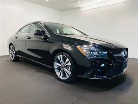 2019 Mercedes-Benz CLA for sale at Champagne Motor Car Company in Willimantic CT