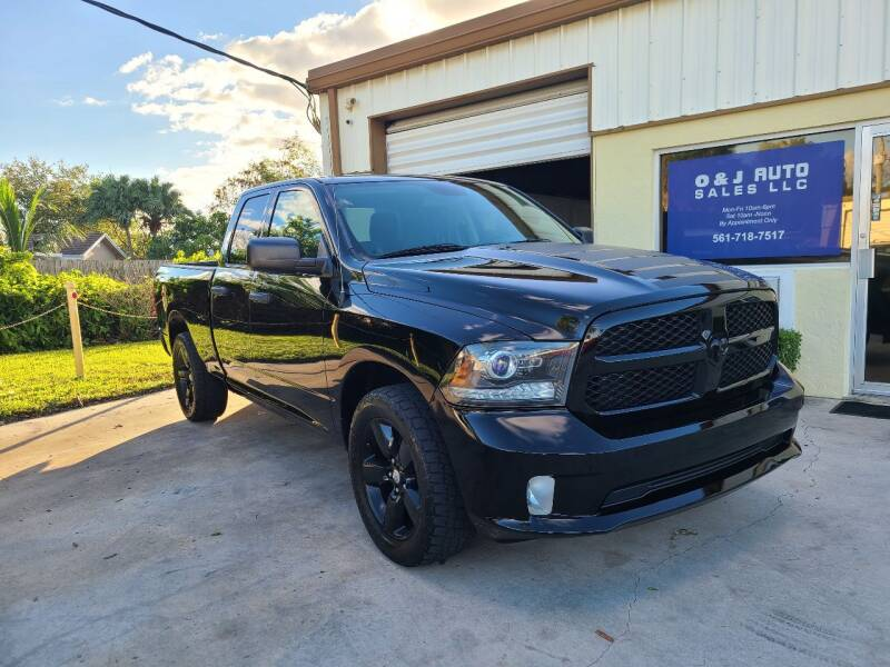 2014 RAM Ram Pickup 1500 for sale at O & J Auto Sales in Royal Palm Beach FL