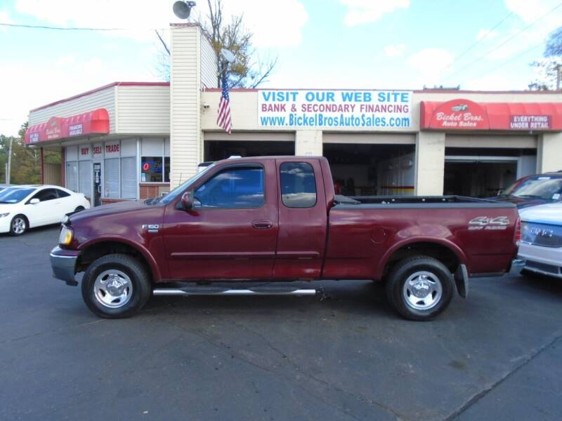 1999 Ford F-150 for sale at Bickel Bros Auto Sales, Inc in Louisville KY