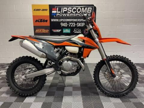 2021 KTM 500 XCF-W for sale at Lipscomb Powersports in Wichita Falls TX