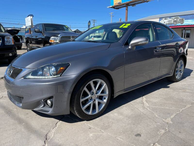 2012 Lexus IS 250 for sale at MAGIC AUTO SALES, LLC in Nampa ID